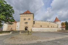 Kezmarok Castle Royalty Free Stock Photography