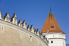 Kezmarok Schloss Stockbilder