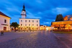 Kezmarok, Slovacchia Fotografia Stock Libera da Diritti