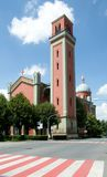Kezmarok, Slovakia. Church in town Kezmarok, northern Slovakia royalty free stock photography