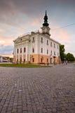 Kezmarok, Slovakia. Town hall and the main square in the town of Kezmarok, Slovakia Stock Images