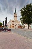 Kezmarok Slovakien fotografering för bildbyråer