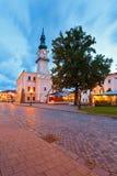 Kezmarok Slovakien Royaltyfri Fotografi
