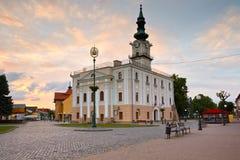 Kezmarok, Slowakei lizenzfreie stockfotografie