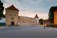 Kezmarok, Slowakije Stock Foto's