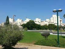 Kfar Saba. A city in the center of the country, full of green areas Stock Image