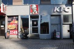 KFC amerykanina łańcuchu restauracja W KOPENHAGA Obraz Stock