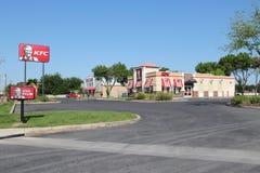 KFC drev igenom Arkivbilder