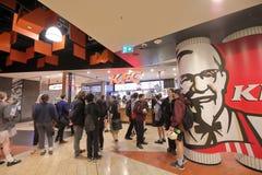 Free KFC Fast Food Restaurant Melbourne Australia Stock Image - 134363411