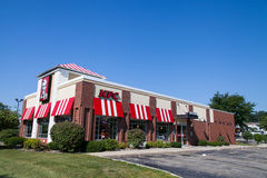KFC fast foods restaurant in Madison, Wisconsin, USA. Wisconsin Stock Photography