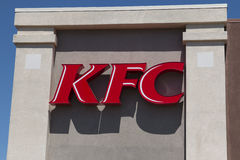 KFC Kentucky Fried Chicken Fast Food Restaurant Royalty Free Stock Photos