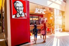 KFC Kentucky Fried Chicken robi zakupy Zdjęcie Royalty Free