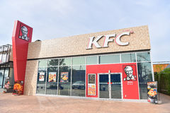 KFC - Kentucky Fried Chicken in Thailand. Stock Images
