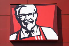 KFC logo Royalty Free Stock Image