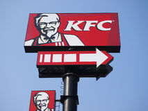 KFC Logo Royalty Free Stock Images