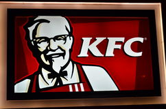 Kfc logo Royalty Free Stock Photos