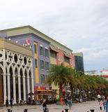 With the KFC logo building in the Shenzhen Sea World Plaza Stock Image