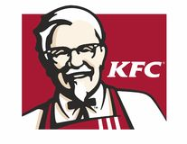 KFC logo. Type in vector formate. EPS traced from photo