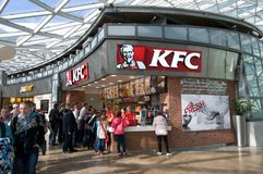 KFC - pollo frito de Kentucky Imagen de archivo libre de regalías