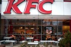 Kfc restaurang Arkivbild