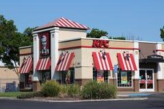 KFC-Restaurant Lizenzfreies Stockfoto