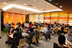KFC restaurant interior Stock Photo