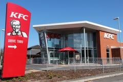 KFC restaurant Royalty Free Stock Photography