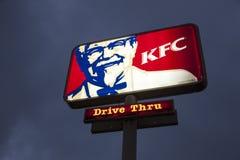 KFC Restaurant Logo Royalty Free Stock Image