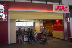 Kfc restaurant in Thailand Royalty Free Stock Image