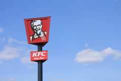 KFC sign Royalty Free Stock Image