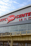 KFC Yum! Центр в Луисвилле, Кентукки США стоковые изображения rf