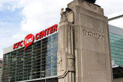 KFC Yum Center Royalty Free Stock Photo
