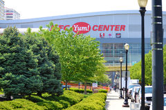 KFC Yum! Center in Louisville, Kentucky USA Royalty Free Stock Photo