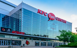 KFC Yum Center stock image