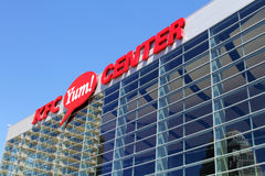 KFC Yum! Center in Louisville, KY Royalty Free Stock Image