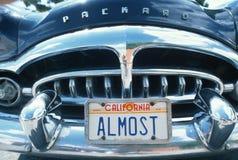 Kfz-Kennzeichen in Kalifornien Lizenzfreies Stockfoto