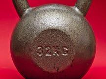 32 kg kettlebell stock images