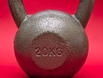 20 kg kettlebell royalty free stock images