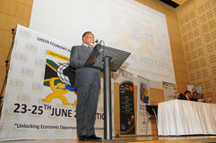 Kgalema Motlanthe Royalty Free Stock Photos