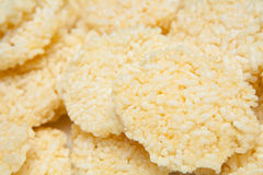 Kgawtag (fritadas secas do mergulho do arroz) Imagem de Stock Royalty Free