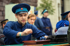 KGB man Royalty Free Stock Image