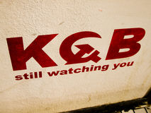 KGB still watching you Stock Images