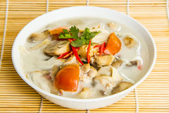 Kha di Tom di alimento tailandese Fotografie Stock Libere da Diritti
