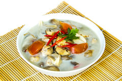 Kha di Tom di alimento tailandese Fotografia Stock