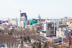 Khabarovsk, Russia. Cityscape Stock Photos