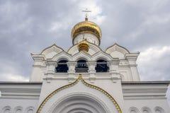 khabarovsk Kerk van de Heilige Martelaar Grote Hertogin Elizabeth stock afbeeldingen
