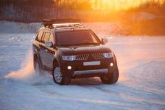 Free KHABAROVSK, RUSSIA - JANUARY 28, 2017: Mitsubishi Pajero Sport M Royalty Free Stock Photography - 85690857
