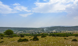 Khabeki village Soon Valley Stock Image