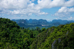 Khabi krajobraz Zdjęcia Royalty Free