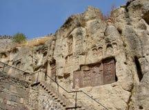 Khach?ars von Geghard, Armenien lizenzfreie stockbilder